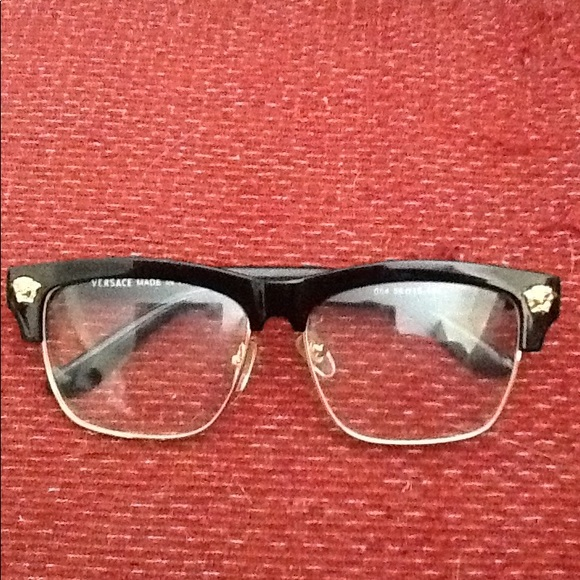 4f8a5ff1dd93 Versace Accessories | Signature Logo Eye Glasses 56 15 134 Nice ...